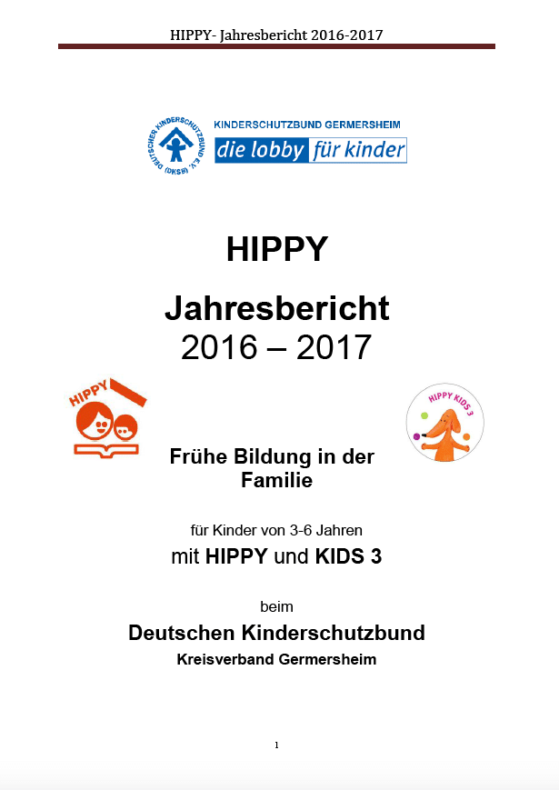 Hippy Jahresbericht 16/17