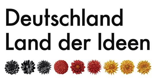 Logo: Deutschland Land der Ideen