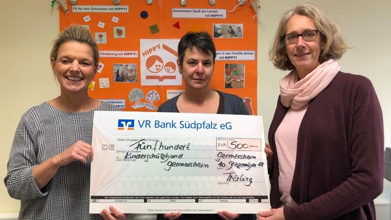 Spende VR-Bank Germersheim
